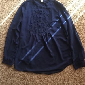 Old navy navy blue blouse S